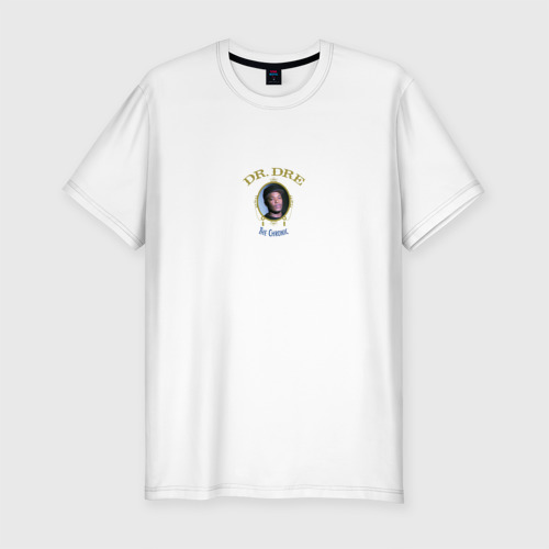 Мужская футболка хлопок Slim Dr. Dre The Chronic