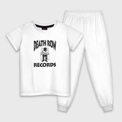 Детская пижама хлопок Death Row Records