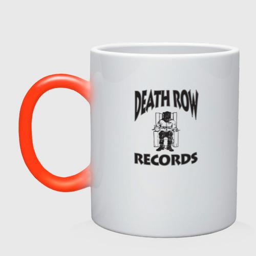 Кружка хамелеон Death Row Records