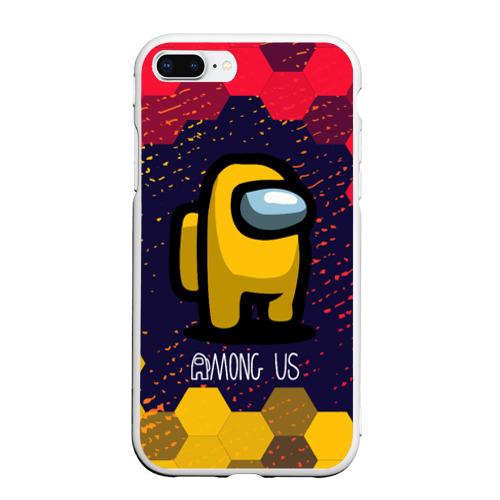 Чехол для iPhone 7Plus/8 Plus матовый AMONG US / АМОНГ АС