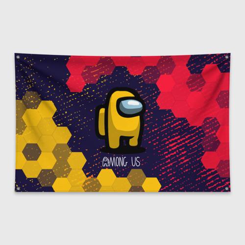 Флаг-баннер AMONG US / АМОНГ АС
