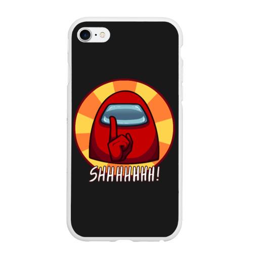 Чехол для iPhone 6/6S матовый Among Us