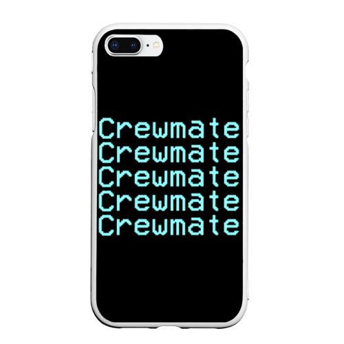 Чехол для iPhone 7Plus/8 Plus матовый Among Us