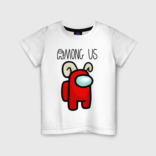 Детская футболка хлопок AMONG US