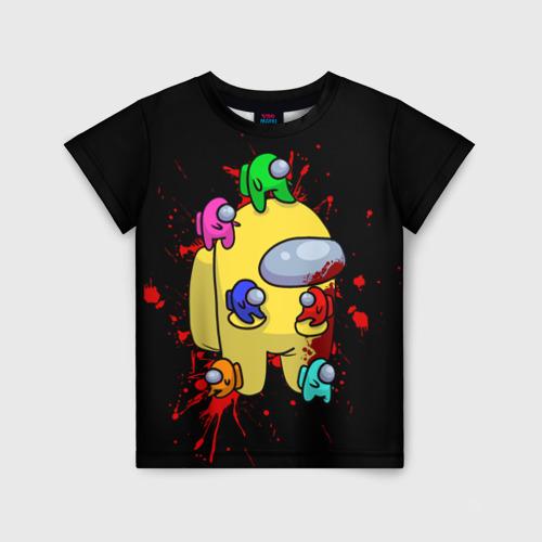 Детская футболка 3D Among Us   Амонг Ас