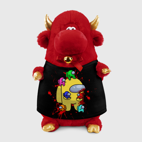 Игрушка Бычок в футболке 3D Among Us | Амонг Ас