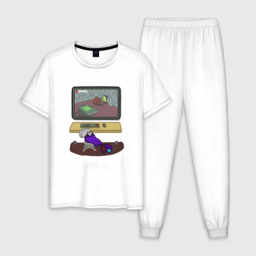 Мужская пижама хлопок AMONG US