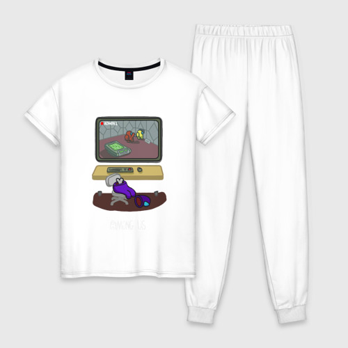 Женская пижама хлопок AMONG US