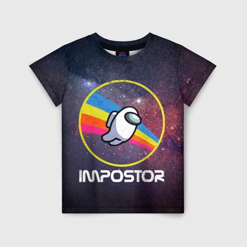 Детская футболка 3D NASA Impostor