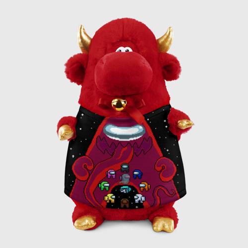 Игрушка Бычок в футболке 3D Impostor Monster