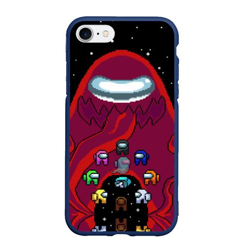 Чехол для iPhone 7/8 матовый Impostor Monster