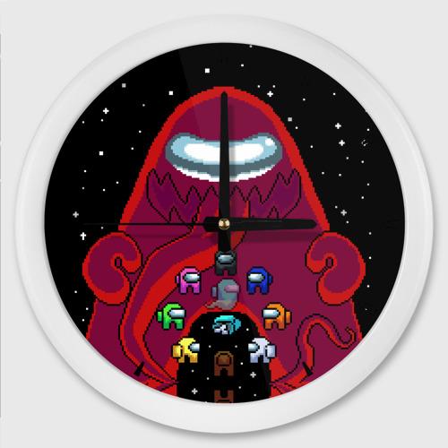 Настенные часы круглые Impostor Monster