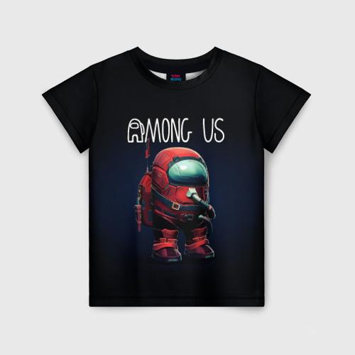 Детская футболка 3D AMONG US