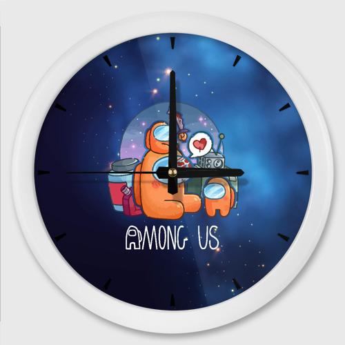 Настенные часы круглые Among Us Space