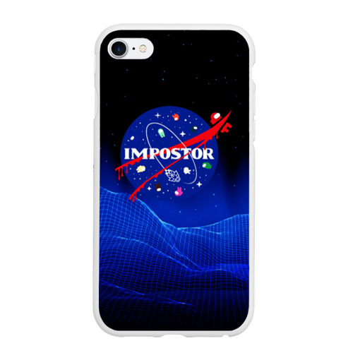 Чехол для iPhone 6/6S матовый IMPOSTOR \ NASA.