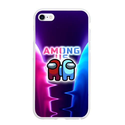 Чехол для iPhone 6/6S матовый  Among Us glow