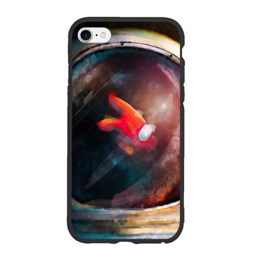 Чехол для iPhone 6Plus/6S Plus матовый AMONG US