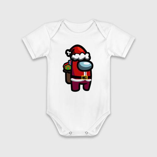 Детское боди хлопок с коротким рукавом AMONG US (CHRISTMAS) 1