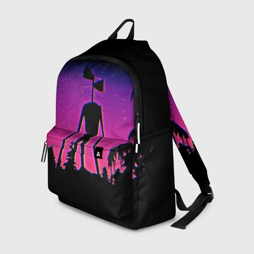 Рюкзак 3D Сиреноголовый Глитч