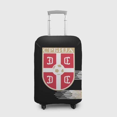 Чехол для чемодана 3D Сборная Сербии