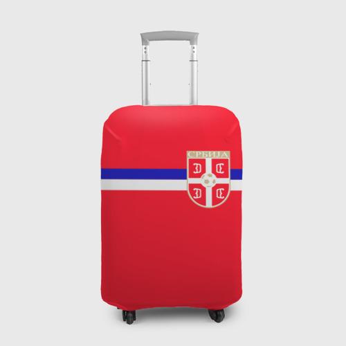 Чехол для чемодана 3D Сборная Сербии.