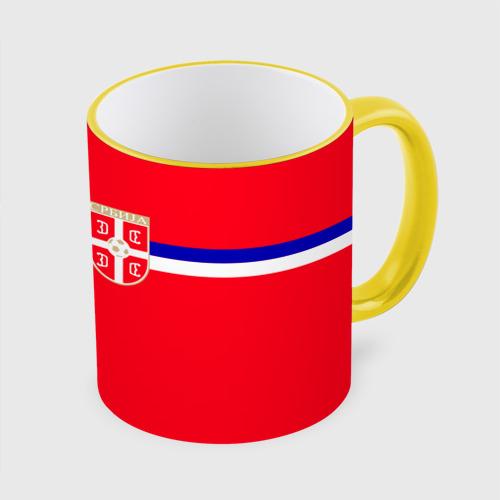 Кружка с полной запечаткой Сборная Сербии.
