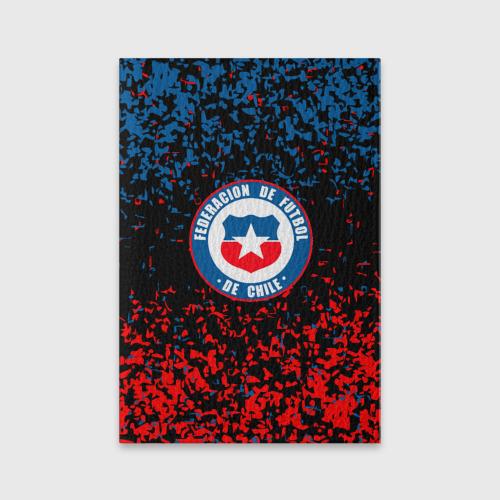 Обложка для паспорта матовая кожа Сборная Чили