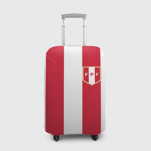 Чехол для чемодана 3D Сборная Перу.