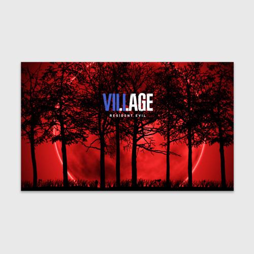Бумага для упаковки 3D Resident Evil Village
